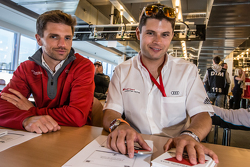 Phoenix Racing: Christian Mamerow and Audi Sport Team WRT: Pierre Kaffer