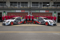 Holden Racing Team group photo shoot