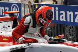 Second place Esteban Ocon, ART Grand Prix
