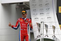 Race winner Kevin Ceccon, Arden International