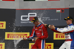 Jimmy Eriksson, Koiranen GP and Kevin Ceccon, Arden International