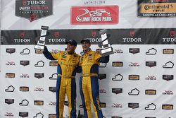 GTD Podium: Race winner #97 Turner Motorsport BMW Z4: Michael Marsal, Dane Cameron