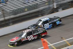 Kevin Harvick, JR Motorsports Chevrolet and J.J. Yeley