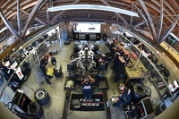 Team Penske team area