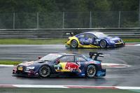 Mattias Ekström, Audi Sport Team Abt Sportsline, Audi A5 DTM e Gary Paffett, ART Grand Prix Mercedes-AMG C63 DTM