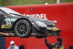 Car of Pascal Wehrlein, HWA AG Mercedes-AMG C63 DTM