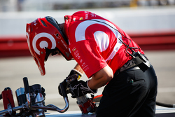 Chip Ganassi Racing crew member
