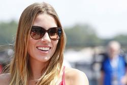 Ashley Van Metre, Kurt Busch's girlfriend