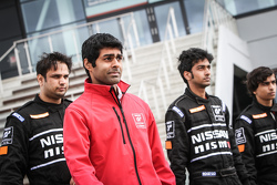 Karun Chandhok and Indian participants