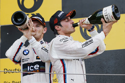 Podium: second place Marco Wittmann, BMW Team RMG BMW M4 DTM, third place Bruno Spengler, BMW Team MTEK BMW M4 DTM