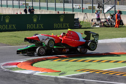 Emil Bernstorff, Arden International and Alex Fontana, Status Grand Prix