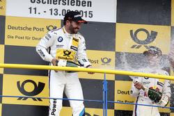 Podium: Winner Timo Glock, BMW Team MTEK BMW M3 DTM
