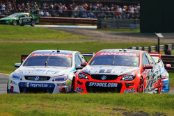 Garth Tander and Warren Luff, Holden Racing Team and Tim Blanchard and Karl Reindler, Lucas Dumbrell Motorsport Holden