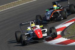 Ben Barnicoat , Fortec Motorsports and Jehan Daruvala, Fortec Motorsports