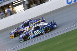Chris Buescher, Roush Fenway Racing Ford and Chase Elliott, JR Motorsports Chevrolet