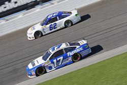 Ricky Stenhouse Jr., Roush Fenway Racing Ford and Timmy Hill
