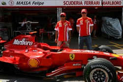 Scuderia Ferrari, use a different tone of paint from this weekend, Felipe Massa, Scuderia Ferrari and Kimi Raikkonen, Scuderia Ferrari