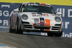 #49 Marcus Motorsports Porsche 997: Spencer Pumpelly, Peter Ludwig