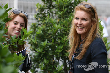Sarah Ferguson, and her daughter Princess Beatrice of York