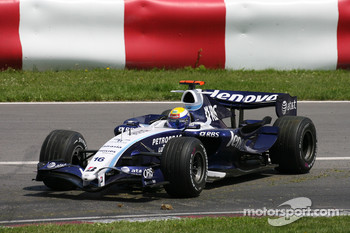 Nico Rosberg, WilliamsF1 Team, FW29, spins