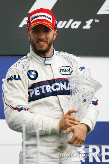 2nd place Nick Heidfeld, BMW Sauber F1 Team