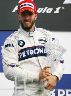 2nd place Nick Heidfeld, BMW Sauber F1 Team