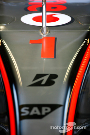 Fernando Alonso, McLaren Mercedes, MP4-22, Number 1