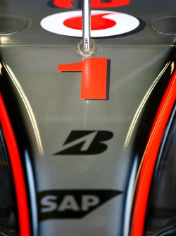 Fernando Alonso, McLaren Mercedes, MP4-22, Number 1