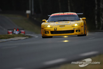 #63 Corvette Racing Corvette C6.R: Johnny O'Connell, Jan Magnussen, Ron Fellows, #64 Corvette Racing Corvette C6.R: Oliver Gavin, Olivier Beretta, Max Papis