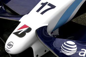 Williams F1 Team front wing