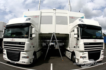 Honda Racing Team trucks