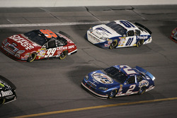 Carl Edwards, Kurt Busch and Mark Martin