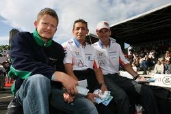 Emmanuel Collard, Jean-Christophe Boullion and Romain Dumas