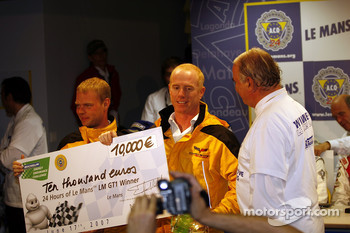 Post-race press conference: Jan Magnussen, Johnny O'Connell
