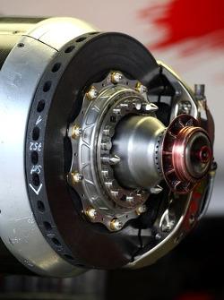 Toyota Racing, TF107, brake detail
