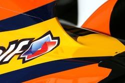 Renault F1 Team body work detail