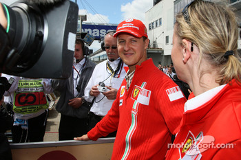 Michael Schumacher, Scuderia Ferrari, Advisor and Sabine Kehm, Michael Schumacher's personal press officer