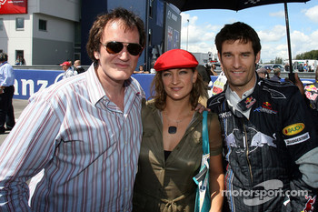 Quentin Tarantino, American Film Director and Zoe Bell Actress in