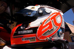 Helmet of Alex Tagliani