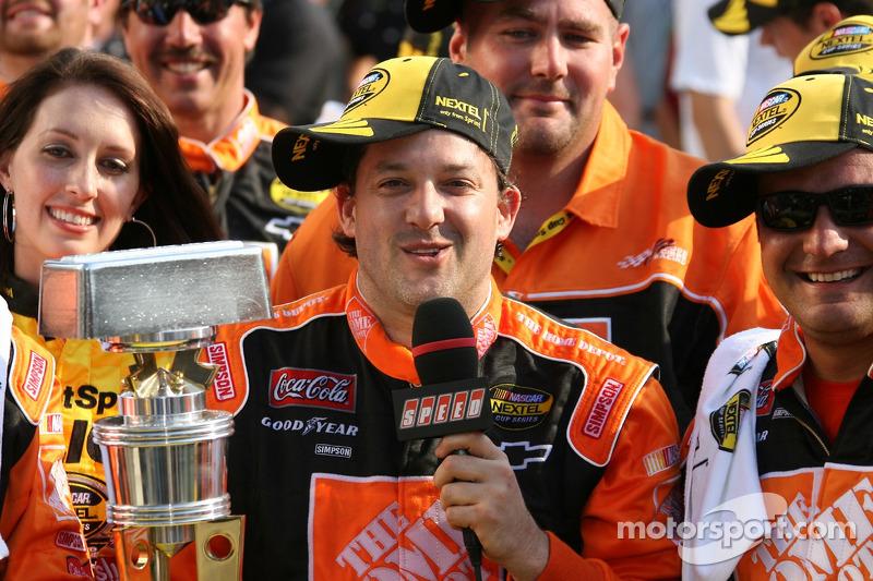 Brickyard 400 in Indianapolis 2007: Siegerinterview