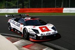 #7 All-Inkl.com Racing Lamborghini Murciélago: Christophe Bouchut, Stefan Mücke, Frank Stippler