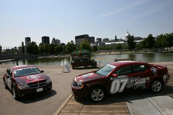 Pre-event press conference: Dodge Avenger pace cars for the NAPA Auto Parts 200 presented by Dodge