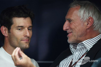 Mark Webber, Red Bull Racing and Dietrich Mateschitz, owner of Red Bull