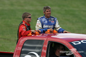 Drivers introduction: Bobby Hamilton Jr. and Mark Green