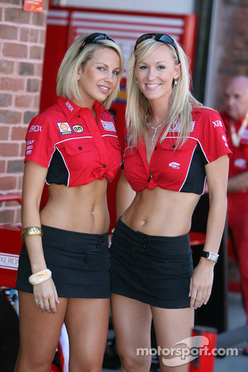 Xerox Ducati girls