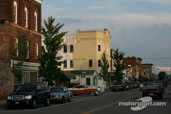 Downtown Watkins Glen street scene