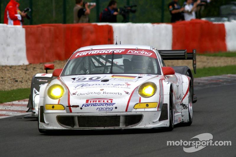 #90 Farnbacher Racing Porsche 997 GT3 RSR: Pierre Ehret, Lars Erik Nielsen, Dirk Werner