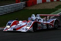 #25 RML MG Lola EX264-AER: Thomas Erdos, Mike Newton