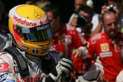 Second place Lewis Hamilton