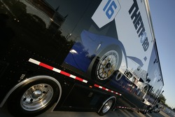 Dyson Racing Team transporter